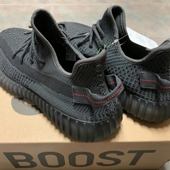 adidas Shoes | Yeezy 35v2 Black Angle